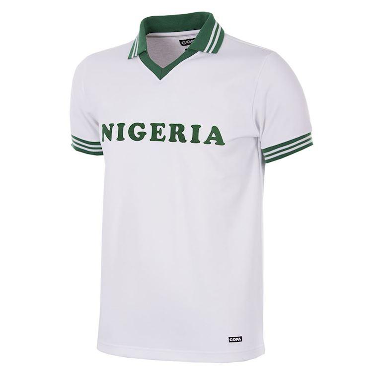 238 | Nigeria 1980 Short Sleeve Retro Football Shirt | 1 | COPA