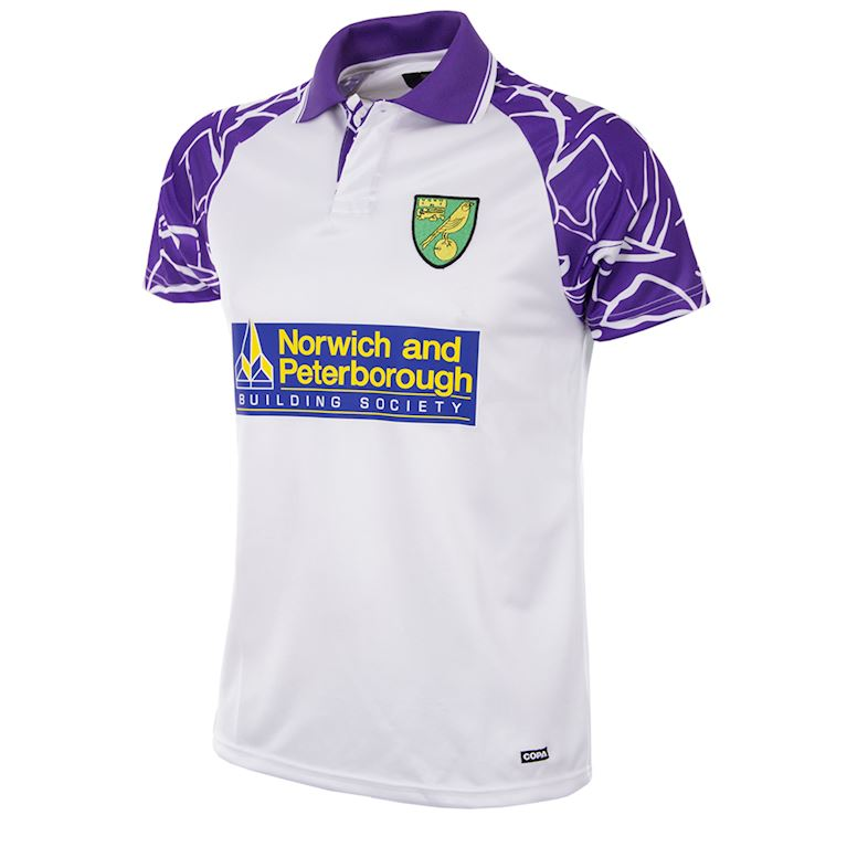 158 | Norwich FC 1992 - 94 Away Retro Football Shirt | 1 | COPA