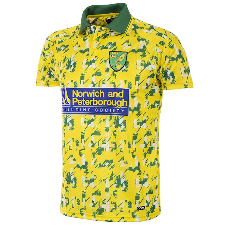 157 | Norwich FC 1992 - 94 Retro Football Shirt | 1 | COPA