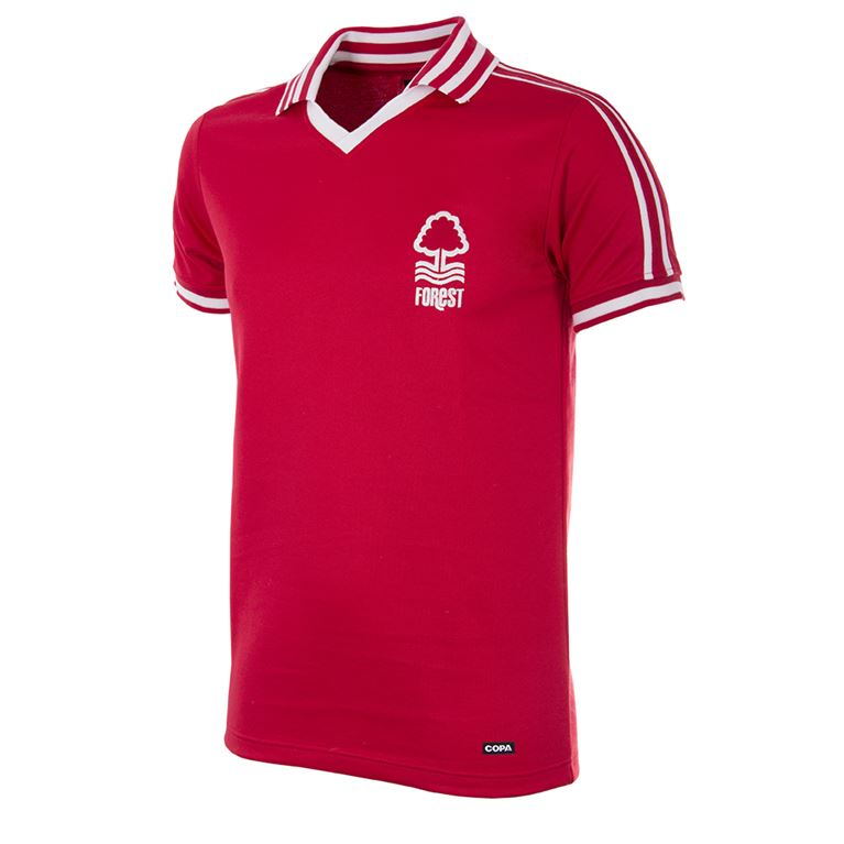 716 | Nottingham Forest 1976-1977 Short Sleeve Retro Shirt | 1 | COPA