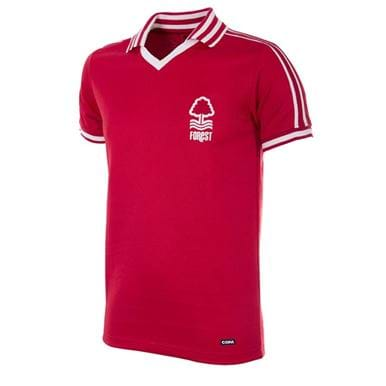 716 | Nottingham Forest 1976-1977 Retro Football Shirt | 1 | COPA