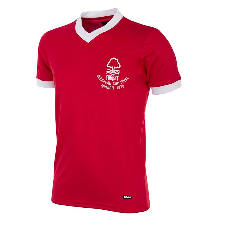 719 | Nottingham Forest 1979 European Cup Final Short Sleeve Retro Shirt | 1 | COPA