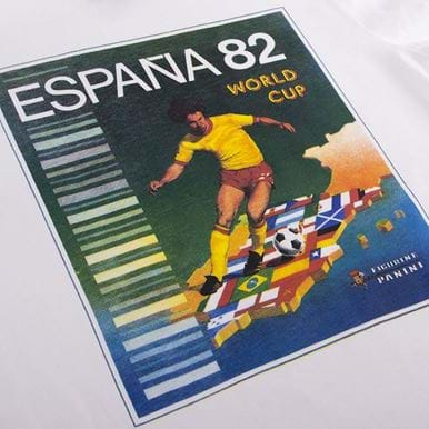 1533 | Panini Heritage Fifa World Cup 1982 T-shirt | 2 | COPA