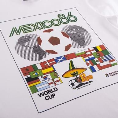1534 | Panini Heritage Fifa World Cup 1986 T-shirt | 2 | COPA