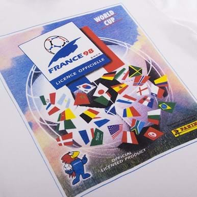 1537 | Panini Heritage Fifa World Cup 1998 T-shirt | 2 | COPA