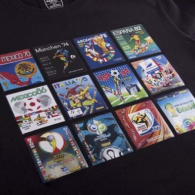 1538   Panini Heritage Fifa World Cup Collage T-shirt   2   COPA