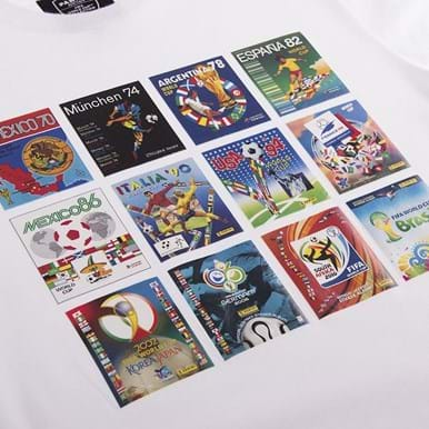 1539 | Panini Heritage Fifa World Cup Collage T-shirt | 2 | COPA