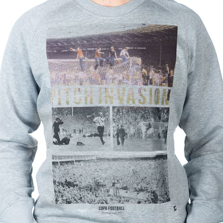 6453 | Pitch Invasion Sweater | Grey Melee | 2 | COPA