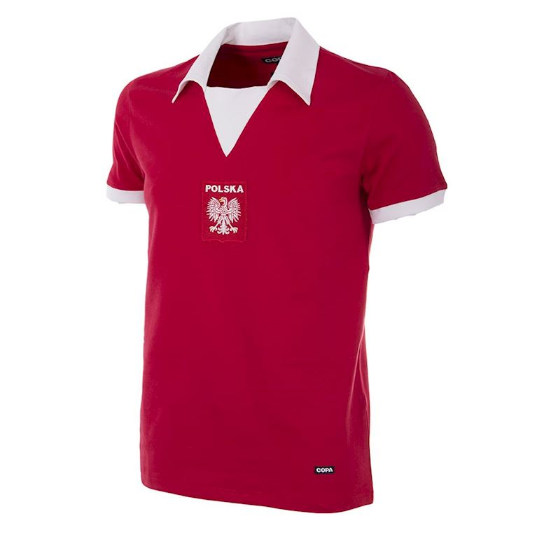 224 | Poland 1970´s Short Sleeve Retro Football Shirt | 1 | COPA