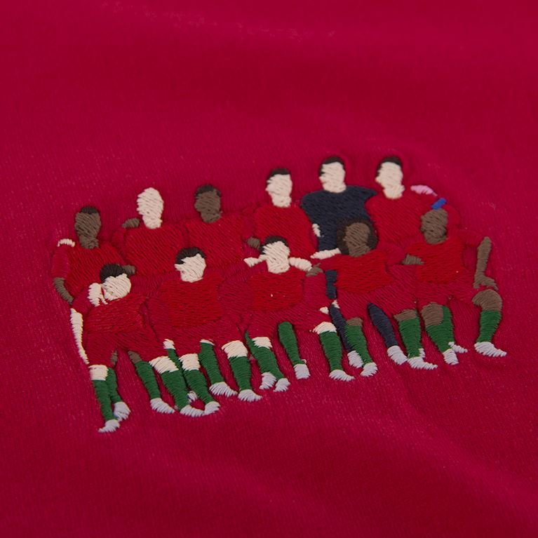6984 | Portugal 2016 European Champions embroidery T-Shirt | 2 | COPA