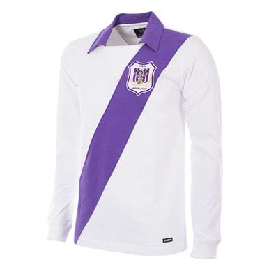 247 | RSC Anderlecht 1962 - 63 Retro Football Shirt | 1 | COPA