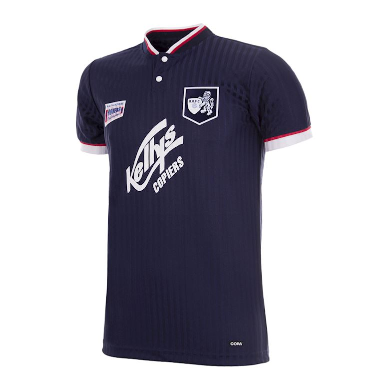 325 | Raith Rovers FC 1995 - 96 Retro Football Shirt | 1 | COPA