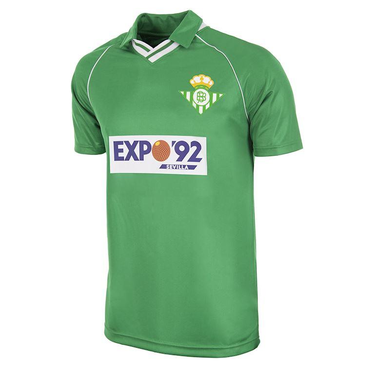 354 | Real Betis 1987 - 90 Away Retro Football Shirt | 1 | COPA
