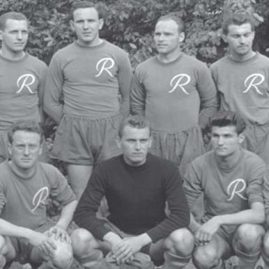 756 | SK Rapid Wien 1956 - 57 Retro Football Shirt | 2 | COPA
