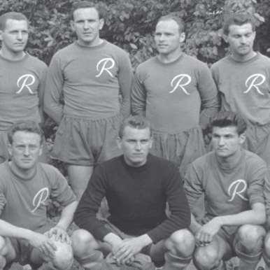 756 | SK Rapid Wien 1956 - 57 Retro Football Shirt | 2 | COPA