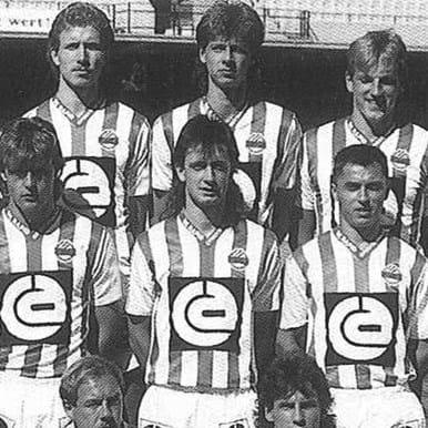 747 | SK Rapid Wien 1988 - 89 Retro Football Shirt | 2 | COPA