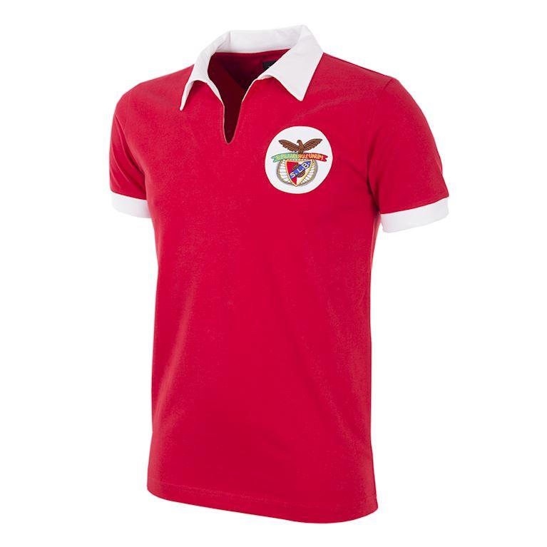 187 | SL Benfica 1962 - 63 Maillot de Foot Rétro | 1 | COPA
