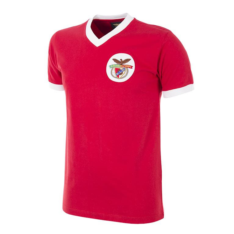 188 | SL Benfica 1974 - 75 Maillot de Foot Rétro | 1 | COPA