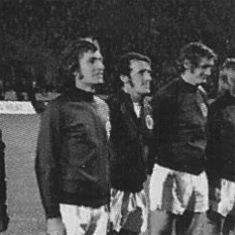 869 | Schotland 1970's Retro Voetbal Jack | 2 | COPA