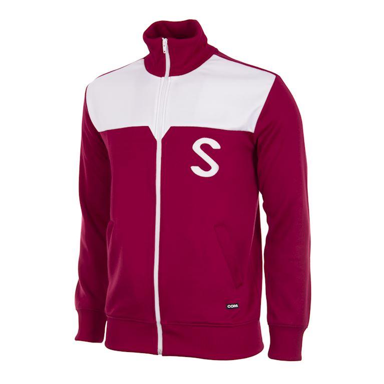 935 | Servette FC 1959 - 60 Retro Fußball Jacke | 1 | COPA