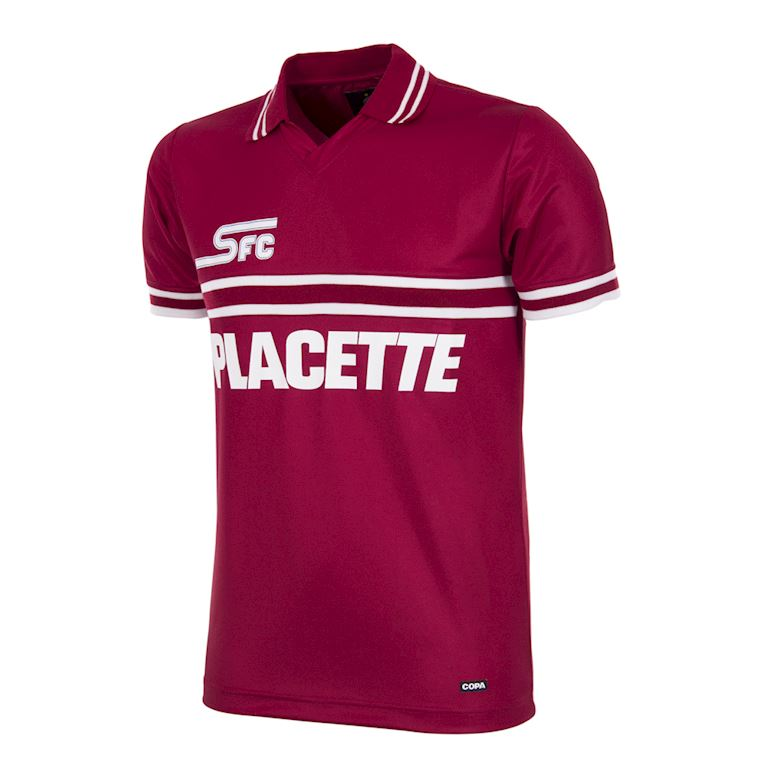 319 | Servette FC 1984 - 85 Retro Voetbal Shirt | 1 | COPA