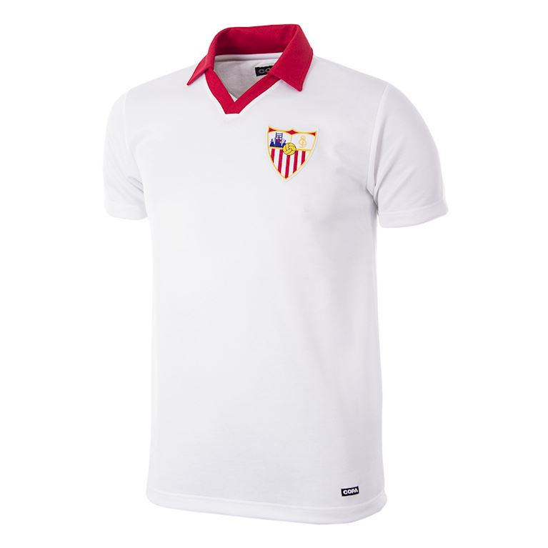 272 | Sevilla FC 1980 - 81 Retro Football Shirt | 1 | COPA