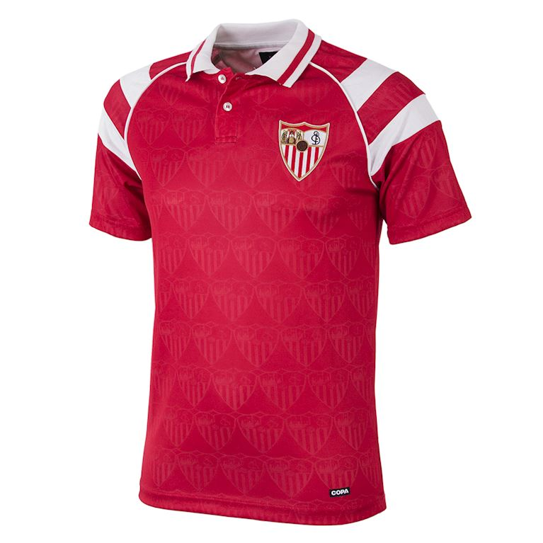 274 | Sevilla FC 1992 - 93 Away Retro Football Shirt | 1 | COPA