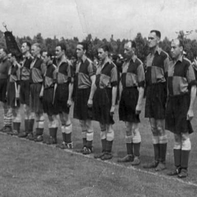 758 | Sheffield FC 1950's Retro Football Shirt | 2 | COPA