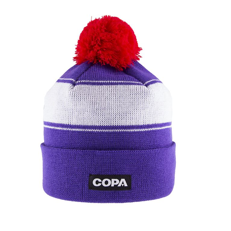 5022 | Sócrates Beanie | Purple-White-Red | 1 | COPA