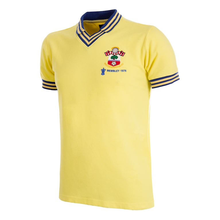 343 | Southampton FC 1976 Cup Final Retro Football Shirt | 1 | COPA