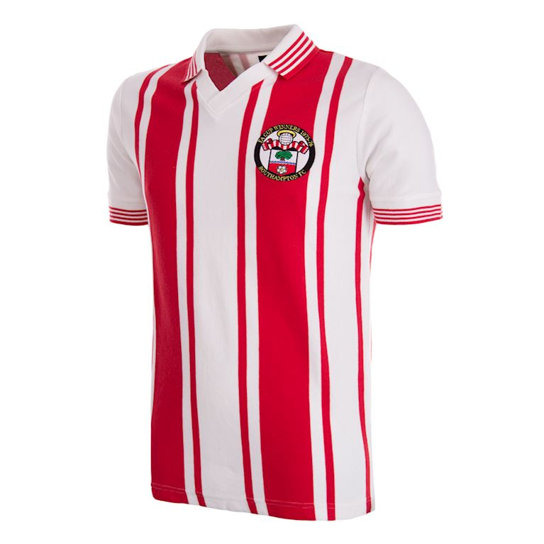 342 | Southampton FC 1976 Cup Winners Retro Football Shirt | 1 | COPA