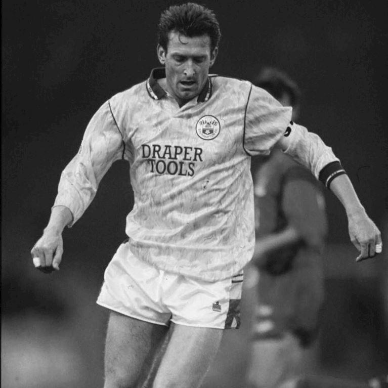 338 | Southampton FC 1991 - 93 Third Retro Fußball Trikot | 2 | COPA