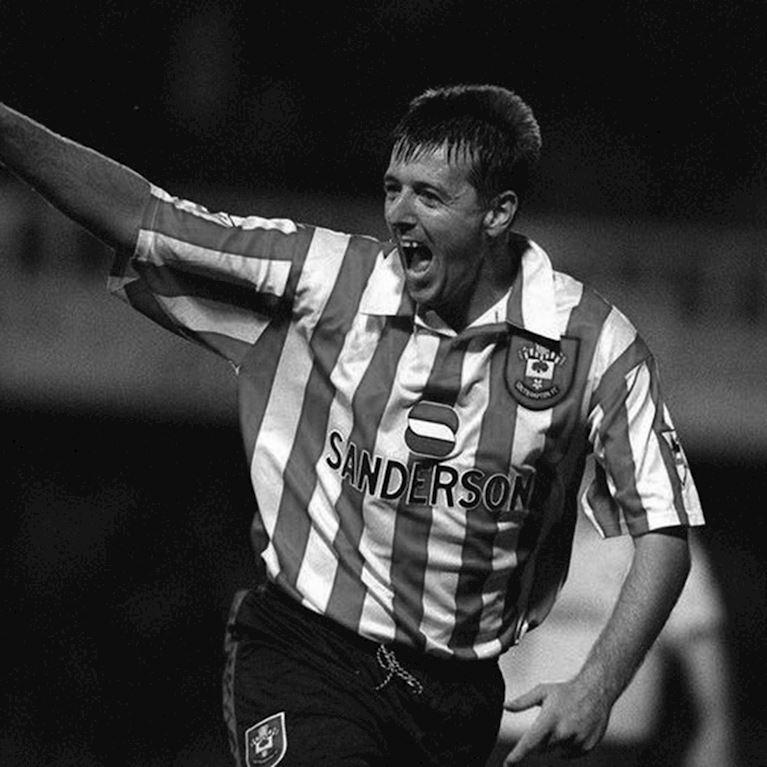 335 | Southampton FC 1995 - 96 Retro Fußball Trikot | 2 | COPA