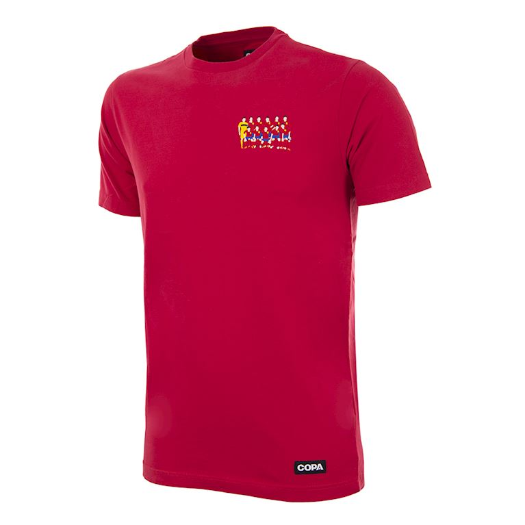 6983 | Espagne 2012 European Champions embroidery T-Shirt | 1 | COPA
