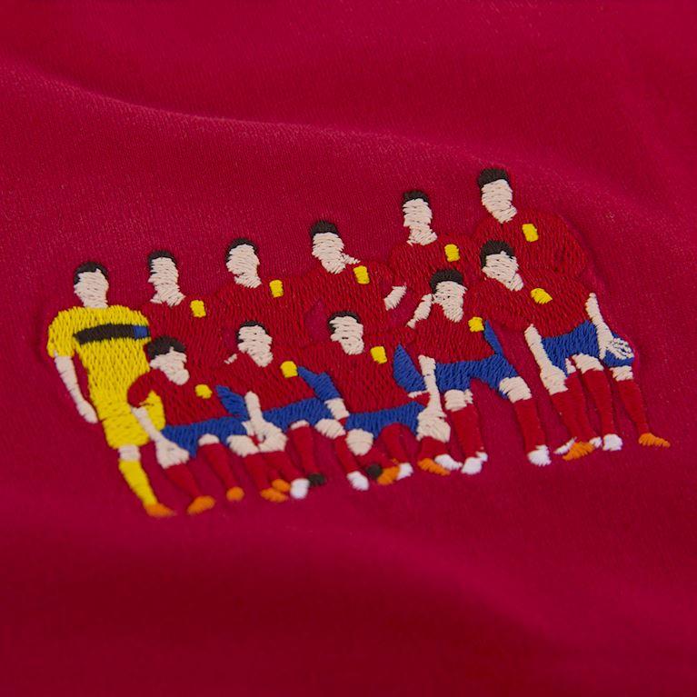 6983 | Espagne 2012 European Champions embroidery T-Shirt | 2 | COPA