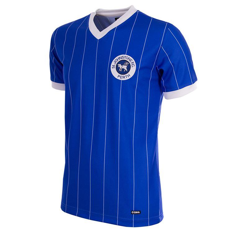 755 | St. Johnstone 1982/83 Short Sleeve Retro Football Shirt | 1 | COPA