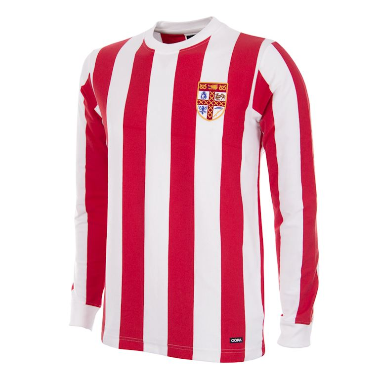 329 | Stoke City FC 1972 Retro Voetbal Shirt | 1 | COPA