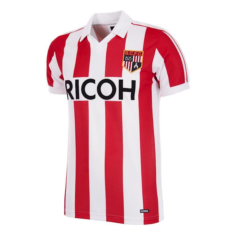 331 | Stoke City FC 1981 - 83  Retro Voetbal Shirt | 1 | COPA