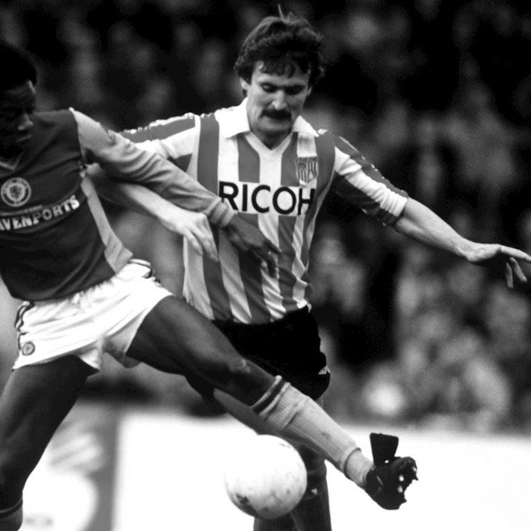 331 | Stoke City FC 1981 - 83  Retro Fußball Trikot | 2 | COPA