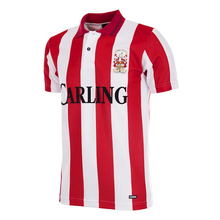 333 | Stoke City FC 1993 - 94 Retro Football Shirt | 1 | COPA