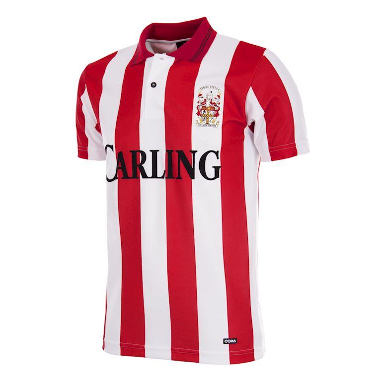 333 | Stoke City FC 1993 - 94 Retro Fußball Trikot | 1 | COPA