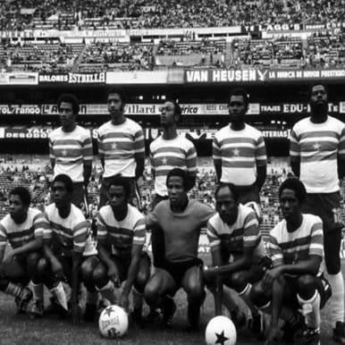 522 | Suriname 1980's Retro Football Shirt | 2 | COPA