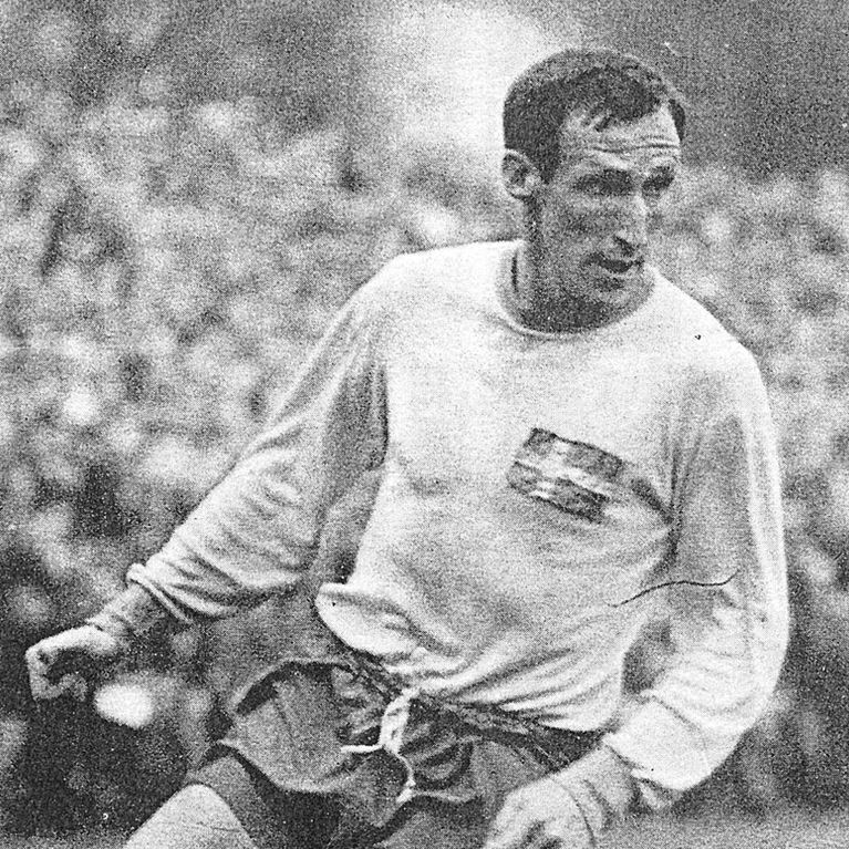 636 | Sweden World Cup 1958 Long Sleeve Retro Football Shirt | 2 | COPA