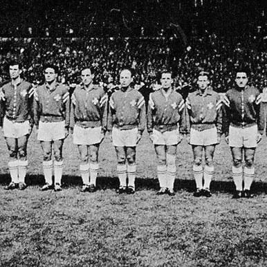820 | Switzerland 1960's Retro Football Jacket | 2 | COPA
