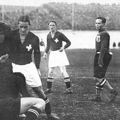 664 | Switzerland World Cup 1954 Retro Football Shirt | 2 | COPA