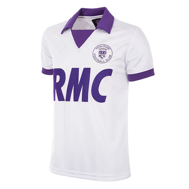8dd01ffd3f8 161 | Toulouse FC 1986 - 87 UEFA CUP Retro Football Shirt | 1 | COPA ...