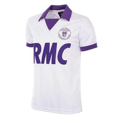 161 | Toulouse FC 1986 - 87 UEFA CUP Retro Football Shirt | 1 | COPA