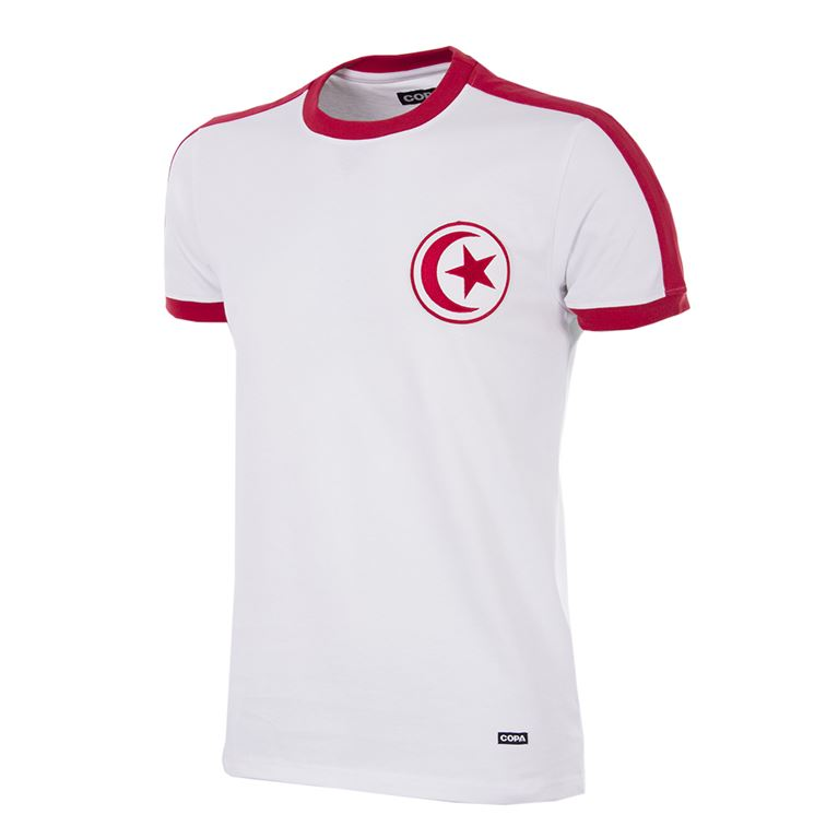 240 | Tunisia 1970´s Short Sleeve Retro Football Shirt | 1 | COPA
