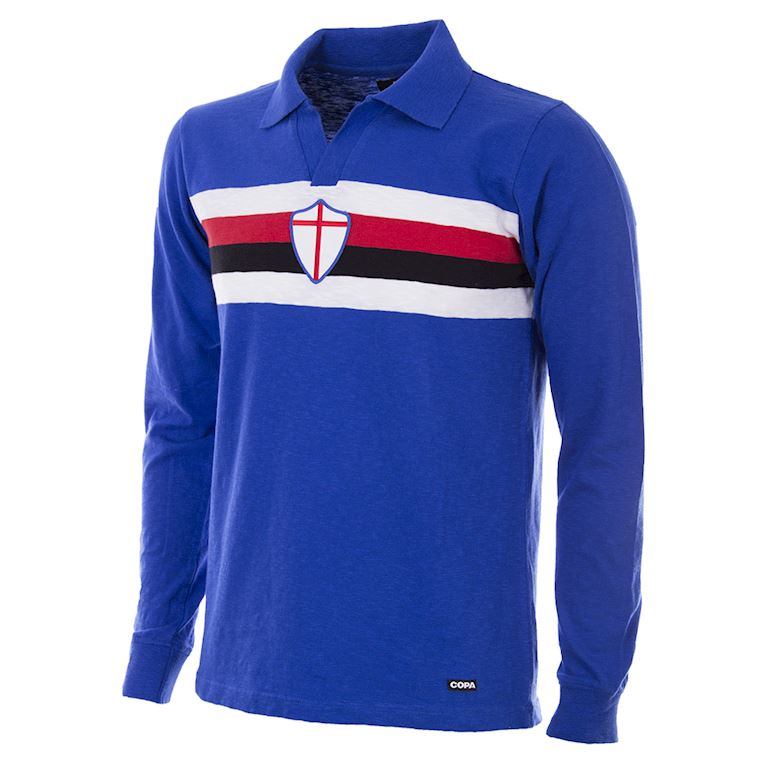 150 | U. C. Sampdoria 1956 - 57 Retro Football Shirt | 1 | COPA