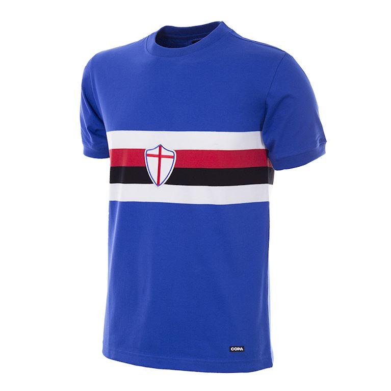151 | U. C. Sampdoria 1975 - 76 Maillot de Foot Rétro | 1 | COPA